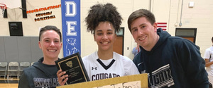 Girls Varsity Basketball Player Hits 1,000 Points