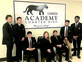 CACHS Stock Market Team Wins 1st Place
