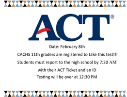 ACT, Saturday 2/8/20