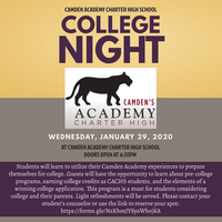 Camden Academy College Night
