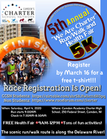 We Are Charter 5th, 5K Race & Health Fair