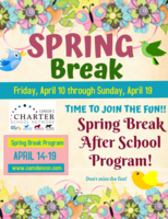 Spring Break Reminder and Virtual After School Program Sign Up