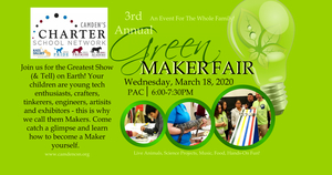 Explore Your Curiosity at our Green Maker Fair