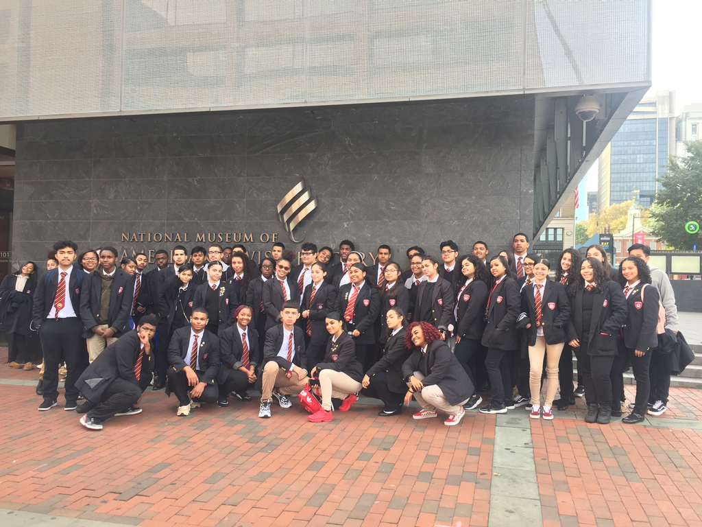 Junior class trip to the Jewish American Museum.