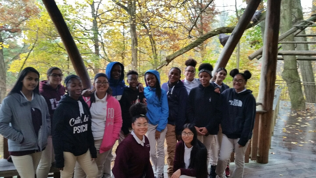 Homeroom 811 at Longwood Gardens!