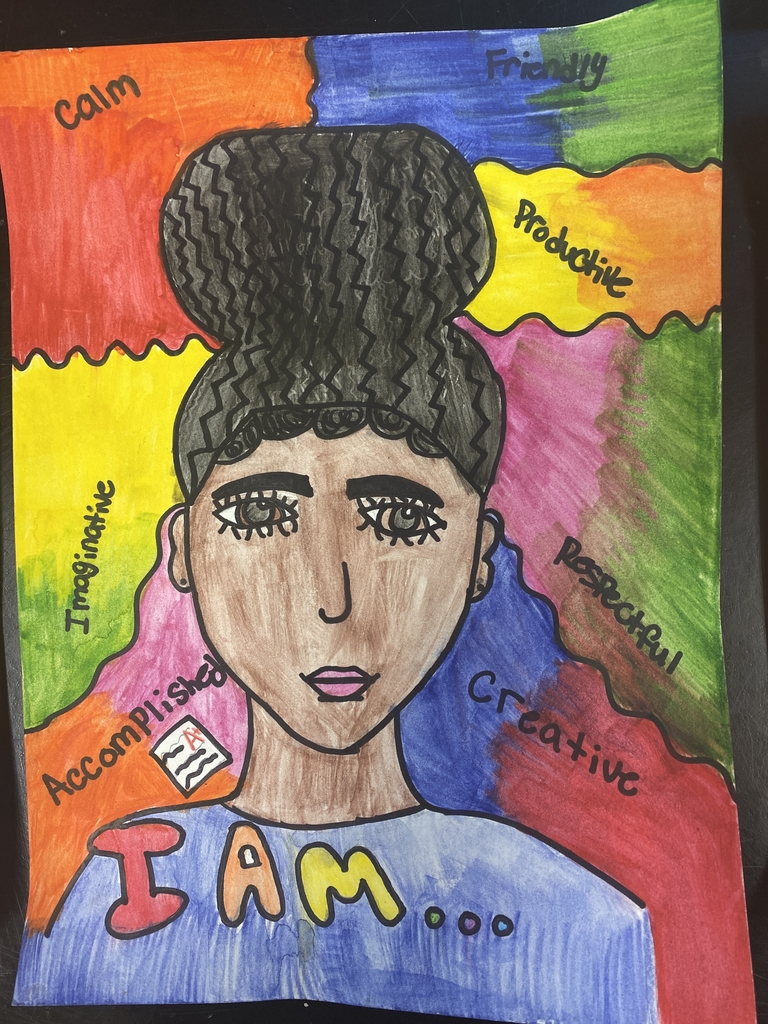 """I AM"" Self Portrait, By: Brie Hilton"