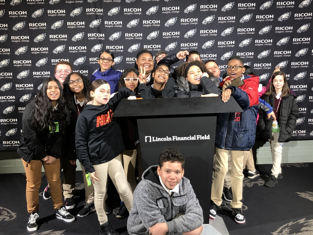 Lincoln Financial Field trip for 6th grade