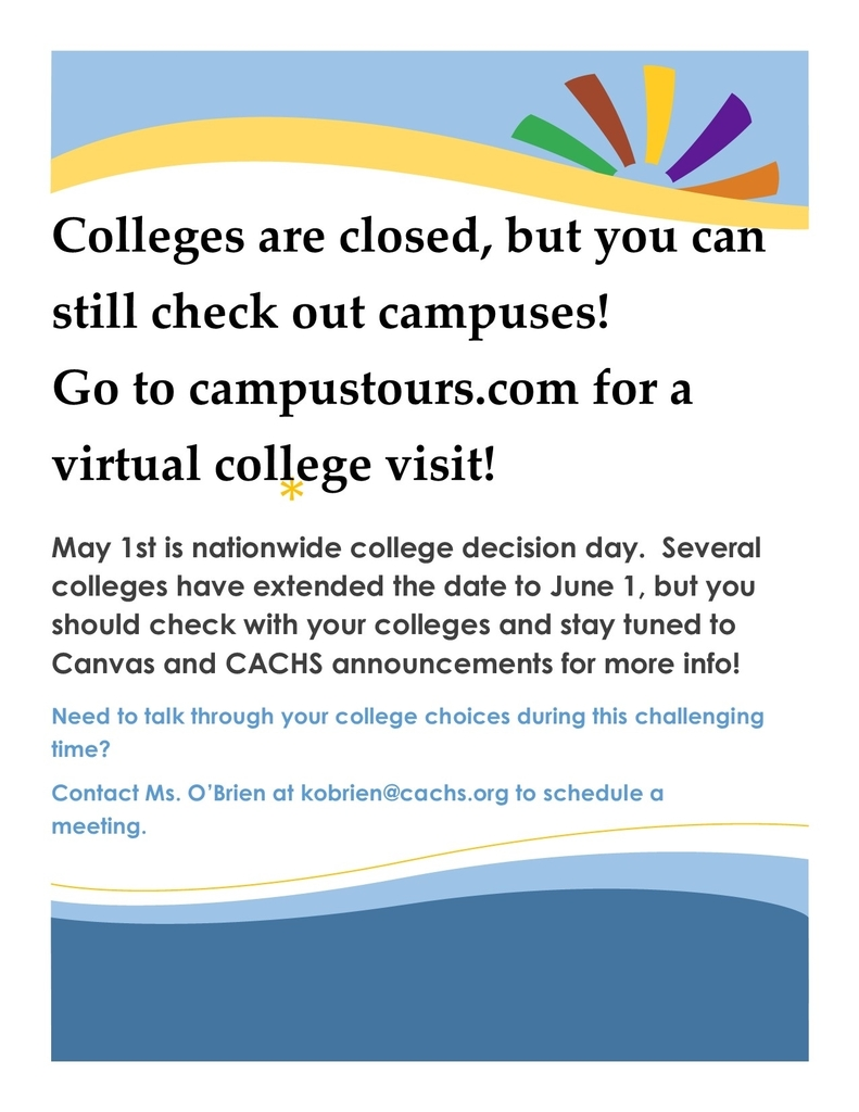 College Decision Day is coming.